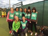 Friendly netball on Monday evenings! All abilities welcome
