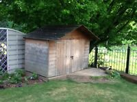 SHED /PLAYHOUSE 4ft X 7ftin wood