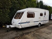 Sterling Europa 525 4 berth caravan 2004 VGC Seperate Shower, Awning BARGAIN !!