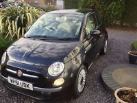 Fiat 500 0.9 TwinAir Lounge 3dr (start/stop) LADY OWNER 0 ROAD TAX 2012 (61 reg), Hatchback