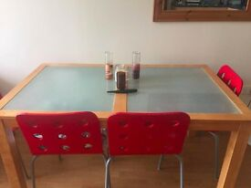 Dining Table Glass Top Or Set