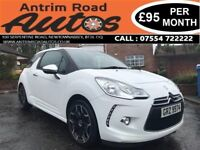 2011 CITROEN DS3 1.6 HDI ** FULL SERVICE HISTORY ** FINANCE AVAILABLE WITH NO DEPOSIT