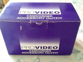 Provideo Camcorder Accesories
