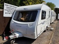 Coachman Amara 380 2 berth caravan 2009, VGC, Awning, light to tow, Bargain !