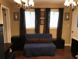 Main floor bachelor apartment with separate entrance