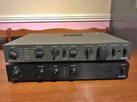Audiolab 8000a Amplifier Audiolab 8000q Preamp Cambridge System