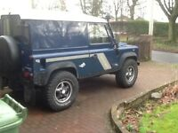 Landrover defender crew cab wanted