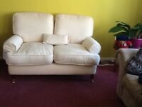 Two seater sofa comfortable and in good condition classic design.