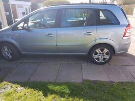 Vauxhall zafria 09 seven seats
