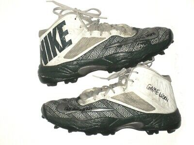 3b34793c7548 DAVID BEEDLE GAME WORN USED   SIGNED LIMITED MICHIGAN STATE SPARTANS NIKE  CLEATS