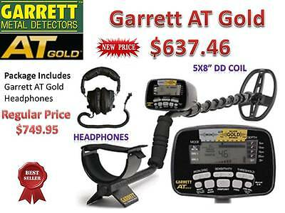 GARRETT AT GOLD SUBMERSIBLE METAL DETECTOR - BEST SELLER - FREE SHIPPING