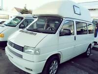 RUST FREE VW T4 LHD WESFALIA 4 BERTH AUTO 5 seats 2.5 PETROL TRANSPORTER HIGH TOP