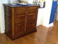 Oak cabinet. Handmade by quality furniture maker