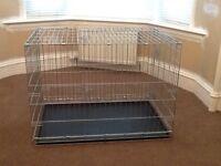Dog training crate
