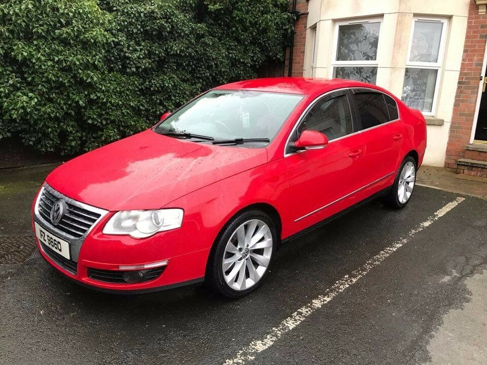 Red 2007 VW Passat SEL 2.0 TDI for sale, may swap or px