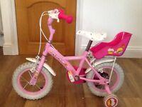 """Girls Apollo cupcake 12"""" bike"""