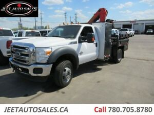 2011 Ford F-550 XLT 4X4 Picker Crane