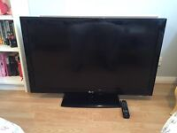 """LG 40"""" Television for sale. Perfect condition. Comes with remote and plug lead."""