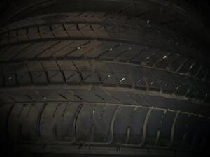2 pneus d'été, Bridgestone, Ecopia, 215/65/16, usure 8/32.