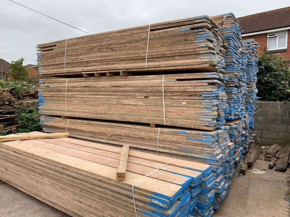 90cm ( 3 ft ) Reclaimed Old Used Scaffold Boards | in ...