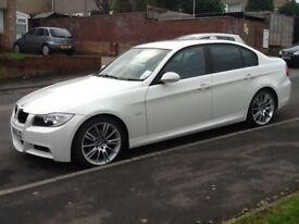 BMW 320 MSport, Alpine White, Full Service History, Low Mileage