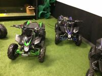 Two quad bikes for sale