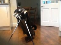 Boys Golf Clubs , Bag and Stand