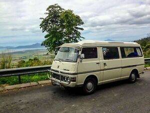 Retro Nissan Urvan e20 campervan for hire Bulimba Brisbane South East Preview