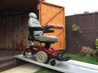 PRIDE JAZZY SELECT 6 - POWER CHAIR - ELECTRIC WHEEL CHAIR MOBILITY SCOOTER - 6MH - 18ST USER £790