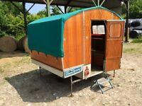 Very Rare Retro Vintage 1960s Chateau Mobile Folding Caravan - Superb Original Condition