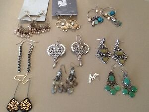 Earrings assorted 10 pieces Seaham Port Stephens Area Preview
