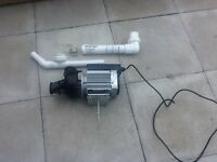 Jacuzzi bath water pump