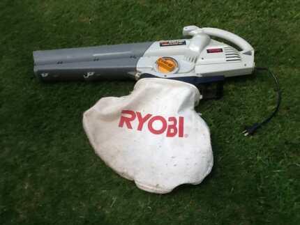 Ryobi blower vac