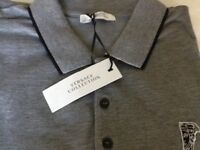 Men's Versace collection polo shirt
