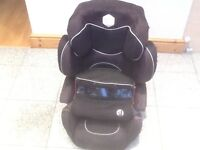 KIDDYPRO group 123 full highback 2piece booster car seat -award winning model-washed and cleaned