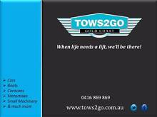 TOWS 2 GO TOWING SERVICE GOLD COAST Helensvale Gold Coast North Preview
