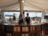 Bar Manager to run high profile events throughout the UK and overseas