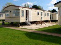 Private caravan to let on butlins resort minehead