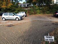 Parking space available in private residential car park, 5-minute walk from Haywards Heath station
