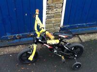 Childrens Hot Wheels Bike