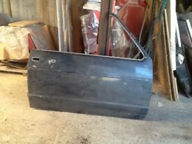 V W convertible mk1 drivers side panel
