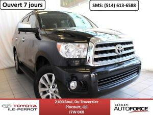 2014 Toyota Sequoia LIMITED, CUIR, TOIT, CAM RECUL, BLUETOOTH+++