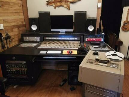 COMPLETE ANALOG STUDIO! Tascam console & 16 track tape machine