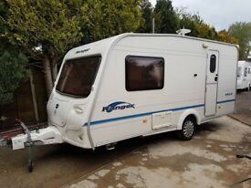 2006 Bailey Ranger 460/2 2 berth caravan Awning, VGC, light to tow, Bargain ! January Sale