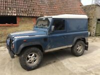 Land Rover Defender 90 not to be missed