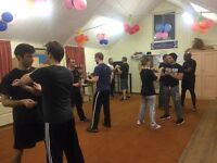 Kung Fu (Wing Chun) Class - learn self defence and improve your fitness. All ages 14+ welcome.