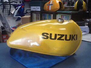 Aluminum Gas Tank Suzuki RM 1976-1978