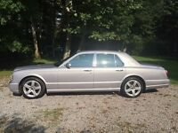 BENTLEY ARNAGE 6.8 T 4dr Auto (silver) 2002
