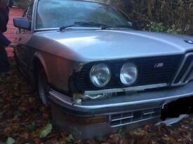 LOOKING FOR ANY BMW AS PROJECT SPARES CLASSIC E21 E23 E28 E30 E34 E36 E38 M3 M5 etc