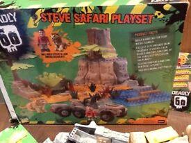 Wild life safari lego set .